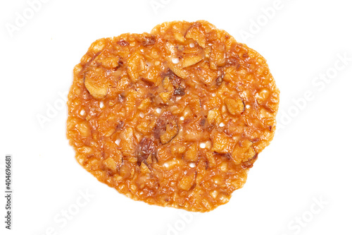 Fotografie, Obraz Florentine Cookies on a White Background