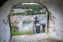 Windows From Fort Of Dinant