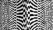 Blockchain - abstraktes Muster, geometrische Form