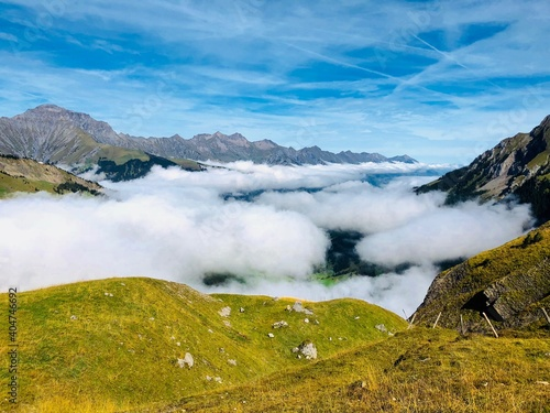 Fotografie, Obraz Scenic View Of Landscape Against Sky