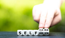 """Dice Form The Expresions """"self-help"""" And """"self-care""""."""