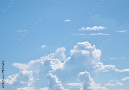 Obraz Low Angle View Of Clouds In Sky - fototapety do salonu