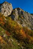 Danube gorge in Djerdap on the Serbian-Romanian border