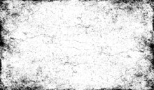 Scratched Frame. Grunge Urban Background Texture Vector. Dust Overlay. Distressed Grainy Grungy Framing Effect. Distressed Backdrop Vector Illustration. EPS 10.