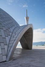 The Rijeka Islamic Centre, In A Suburb Of Rijeka, Primorje-Gorski Kotar County, Croatia. Opened In 2013 Thanks To A Donation From Qatar