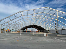 Installation Huge Tent For All Events