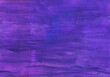 canvas print picture - Abstract dark violet textured background. Rough purple and blue brush strokes on paper.