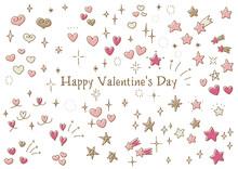 手書き、手描き、アイコン、イラスト、バレンタイン、ハート、バレンタインデー、ロゴ、リボン、かわいい、ピンク、赤、キラキラ、おしゃれ、2月、白バック、イベント、素材、パーツ、マーク、贈り物、プレゼント、愛、ベクター、ギフト、コピースペース、カラフル、シンプル、セット、デザイン、ラブレター、手紙、ホワイトデー、バリエーション