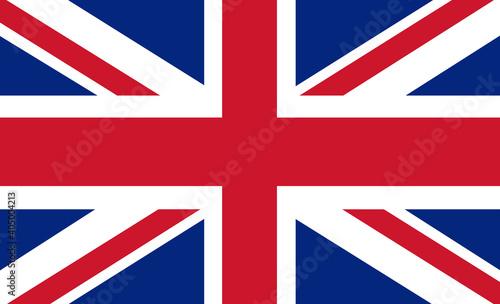Valokuvatapetti Great Britain Vector Flag