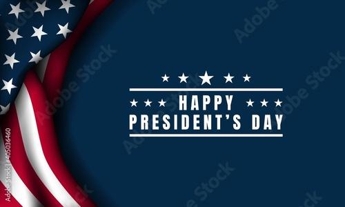Fotografía President's Day Background Design. Vector Illustration.