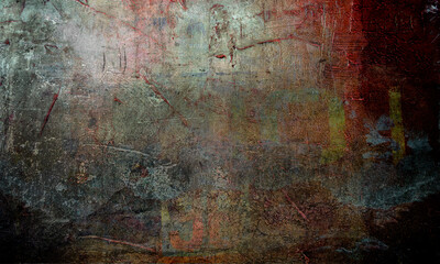grunge painted texture