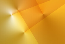 Liquid Golden Sunrise Gradient Triangles And Lines