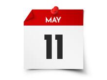May 11 Day Calendar