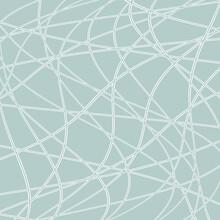 Light Blue And White Wavy Vector Ornament. Modern Background. Geometric Modern Pattern