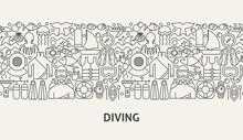 Diving Banner Concept