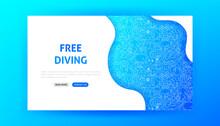Free Diving Landing Page