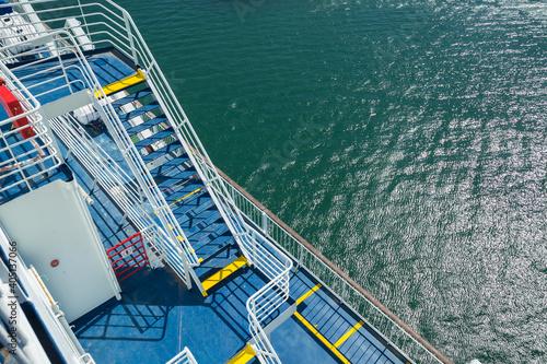 Fotografía ferryboat sailing the Irish Sea