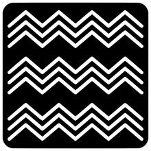 Egyptian Fresco Wave Icon Outline Style Vector Outline, Black, White, Africa, Seamless, Ethno, Wave, Icon, Fresco, Egyptian, Vector, Isolated