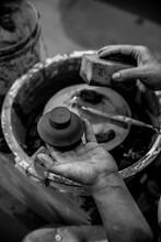 Making Pottery Manually