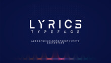 Font Typography New Design Alphabet 2021 Letters And Numbers Abstract Elegant Creative.