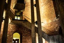 Steinmauern Und Treppen