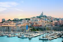 Marseille Sunset, Provence, France