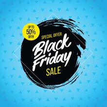 Black Friday. Mega Sale Background Concept