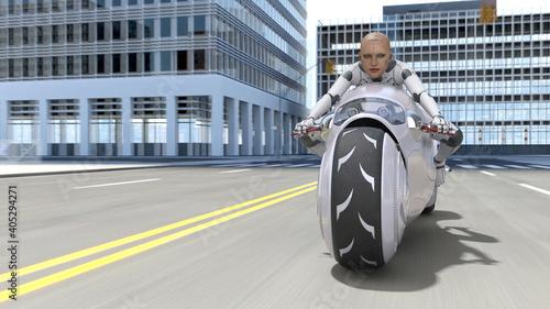 Slika na platnu バイク