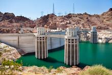 USA, Nevada, Boulder City, Hoover Dam