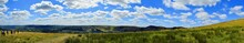 Beautiful Panoramic Landscape Of The Peak District National Park, Derbyshire, United Kingdom, The First National Park In England And Also A Popular Tourist Destination – August, 2018.