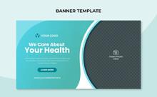 Medical Health Web Banner Template
