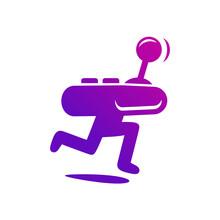 Play Arcade Joy Stick Logo