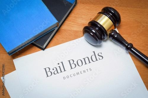 Fototapeta Bail Bonds