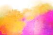 Watercolor texture background colorful splash
