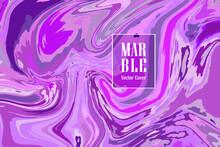 Marble Fluid Art Texture Vector Background For Your Exterior Design, Banner, Flyer, Textile
