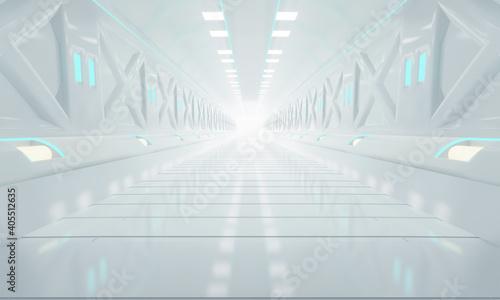 Photo corridor in a modern building