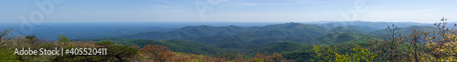 Part of the Appalachian trail panorama Fototapet