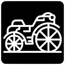 Summer Brougham Icon Outline Style Vector Outline, Black, Summer, Brougham, Icon, Vector, Transportation, Isolated, Baby, Horse, Love, Beautiful