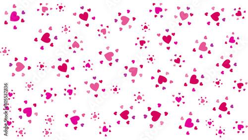 Pink love background