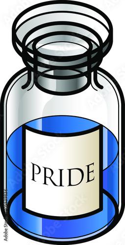 Obraz na płótnie A reagent bottle of Pride
