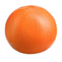Juicy Bright Ripe Grapefruit On A White Isolated Background Macro