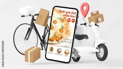 Food online order delivery