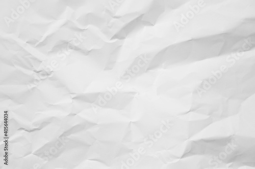 Fototapeta Full Frame Shot Of White Crumbled Paper obraz