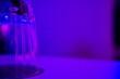 Leinwandbild Motiv Close-up Of Glass Container At Desk In Laboratory