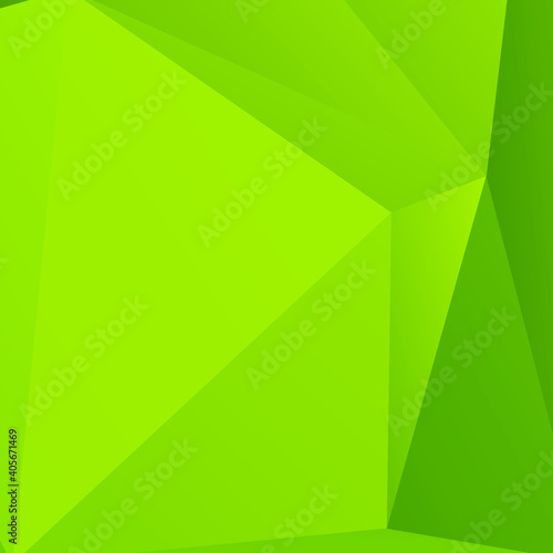 Carta da parati Abstract Color Polygon Background Design, Abstract Geometric Origami Style With