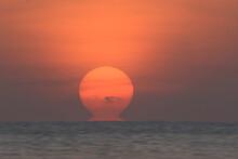 Scene Of Beautiful Sunrise In The Morning.