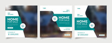 Real Estate Instagram Social Media Post Web Banner
