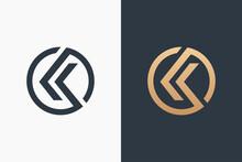 Letter K Logo Template Design Vector Illustration Design Editable Resizable EPS 10