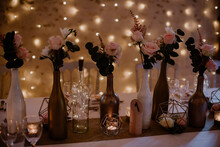 Décoration Table Mariage Fleurs