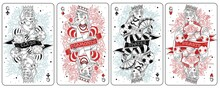 Playing Cards Queens Set